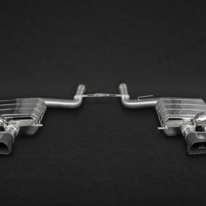 BMW 550i Capristo Valved Exhaust System Ceramic Tips