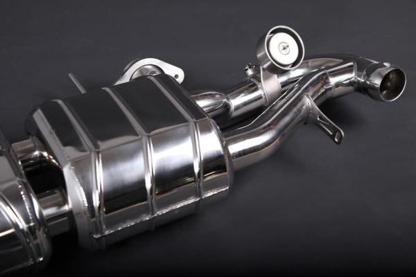 Aston Martin Vantage V8 V12 Valved Muffler Capristo Exhaust