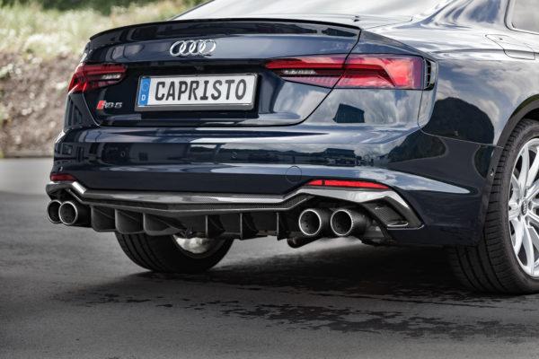 Audi RS5 Carbon Fiber Rear Diffusor F5 B9 CAPRISTO