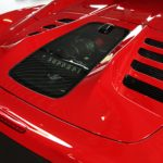 Ferrari 458 Spider/Aperta Carbon and Glass Bonnet Red Rosso