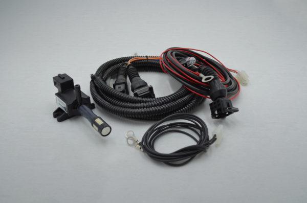 Capristo Exhaust CES3 Remote Components