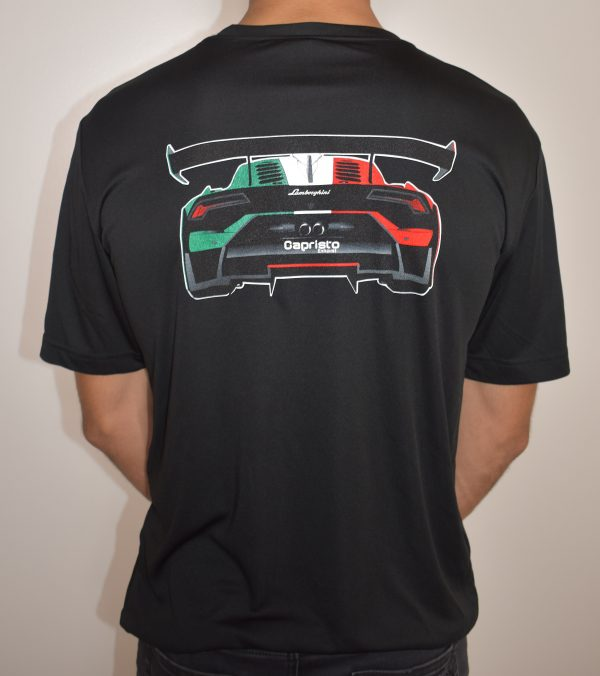 Capristo-Lambo Shirt Back Cropped