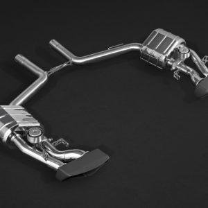 Mercedes CLS63 AMG Capristo Valved Sport Exhaust System Ceramic Tips