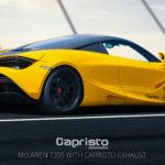 Capristo McLaren 720S Exhaust Valved