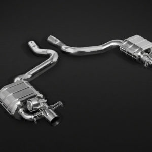 Mercedes Benz C63 BiTurbo Valved Exhaust Pipe System