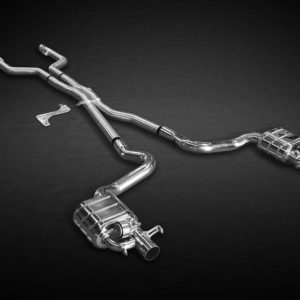Mercedes Benz C63 BiTurbo Valved Exhaust Pipe System Mid Pipes