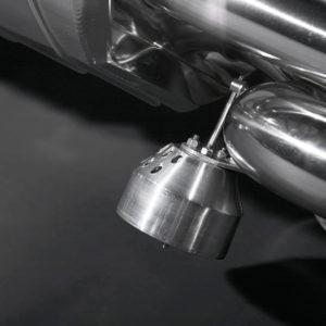 Lamborghini Gallardo LP550 LP560 LP570 Capristo Valved Exhaust System Valve Close Up