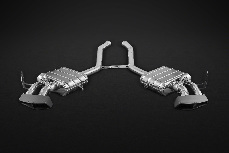 Mercedes Benz ML63 AMG Valved Exhaust System Ceramic Tips